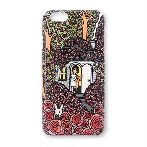 iPhoneケース(薔薇の隠れ家)11、11Pro Max、XS Max、XR、8Plus、7Plus、6Plus/6sPlus