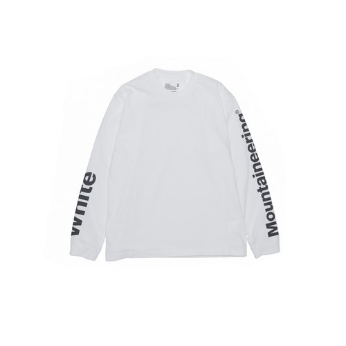 LOGO PRINTED SLEEVES SWEATSHIRT - WHITE