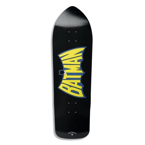 Noah x Batman Deck(Black)
