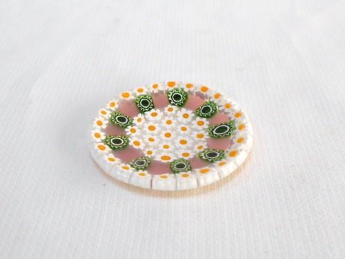 ミルフィオリ小皿 4.5cm