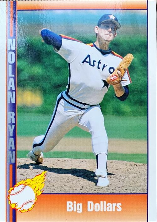 MLBカード 92PACIFICTRADING Nolan Ryan  #141 Big Dollars