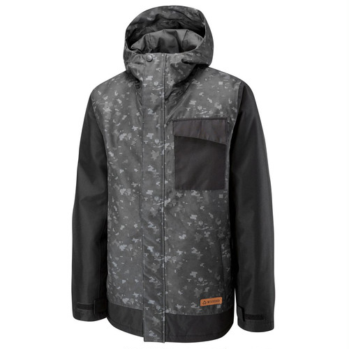 Pipeline Printed Jacket	Black Forces Camo