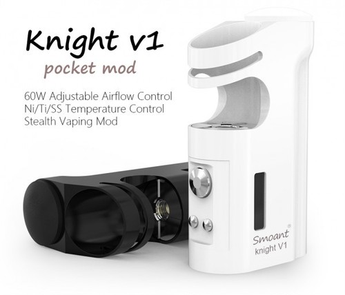 Knight V1 ULTIMATE COMPACT TC MOD by Smoant