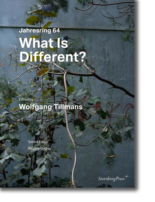ヴォルフガング・ティルマンス 「Jahresring 64 What Is Different?」 (Wolfgang Tillmans)