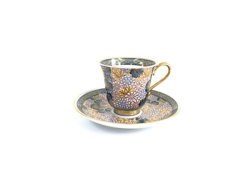 寒菊 コーヒー碗皿