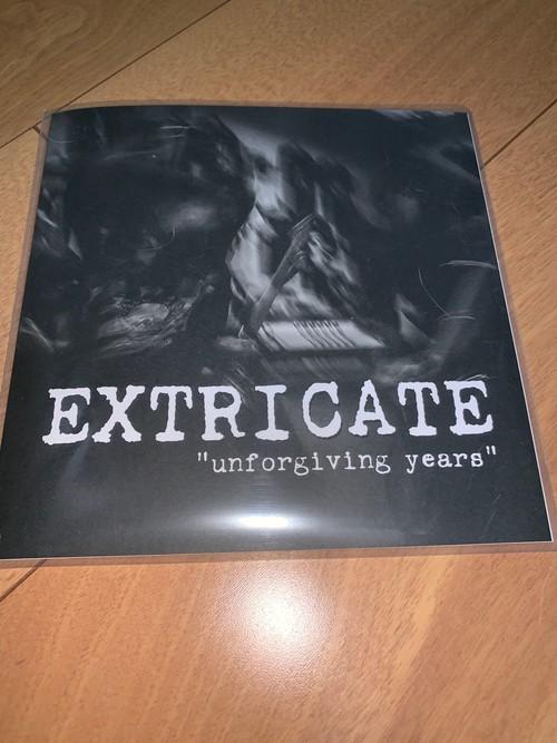 "Extricate - Unforgiving Years 7"""
