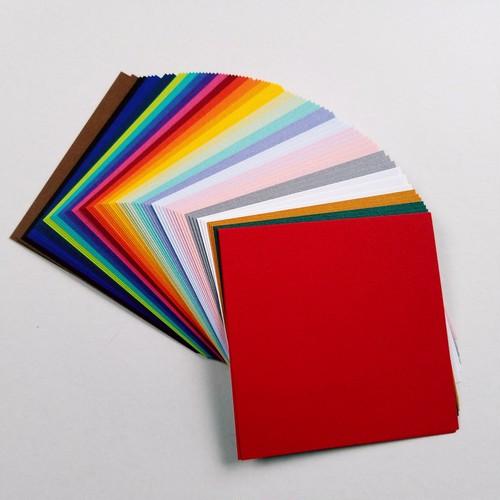 バラ折り紙<サガンGA> 8 x 8㎝ 26色 5セット