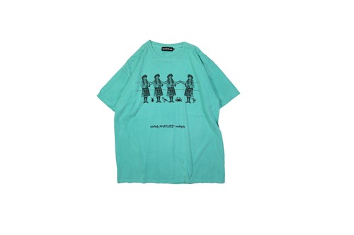 T-shirt Used Green