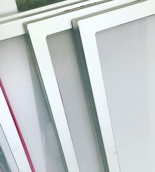 A3シルクスクリーン紗張り済アルミフレーム★120メッシュ