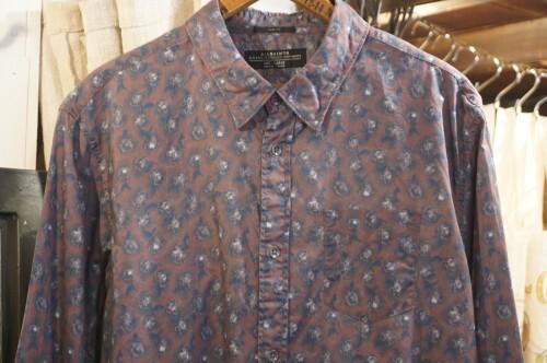 ALLSAINTS floral printed cotton Shirt