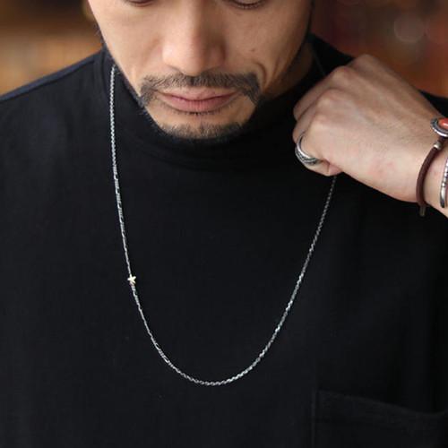 amp japan/アンプジャパン アンプジャパン ゴールドスターロングチェーンネックレス 『 Gold Star Chain NC 』 HYO-156