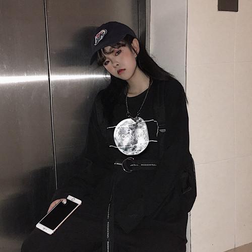 【トップス】プリント長袖カジュアルTシャツ20480860