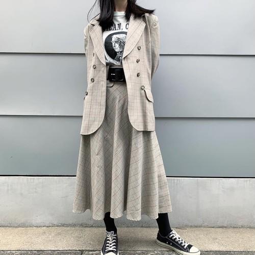 80~90s Chloe チェック セットアップ【レディース】