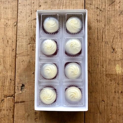 レアチーズの水まんじゅう 8個入り(化粧箱)