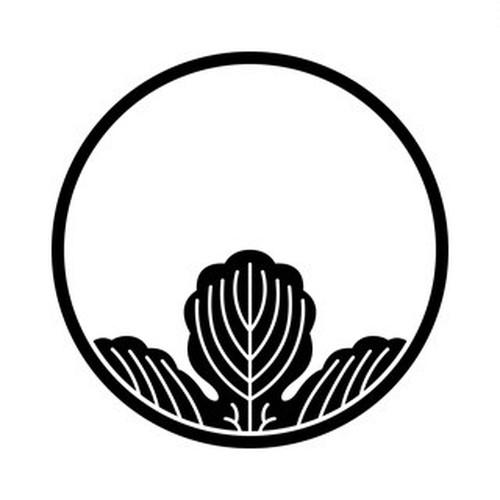 糸輪に覗き梶の葉 aiデータ