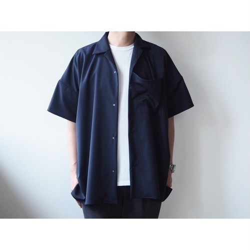 BASISBROEK(バシスブルック) 『DEED』Oversize Open Collar Shirt