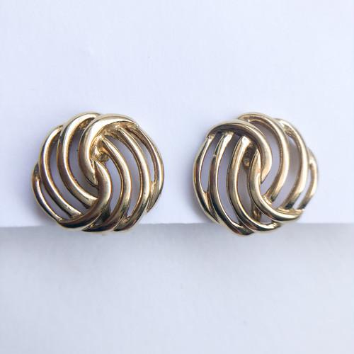 """""""Monet"""" design earring[e-1315] ヴィンテージイヤリング"""