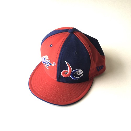 NEW ERA : 「Washington Wizards」6panel cap (used)