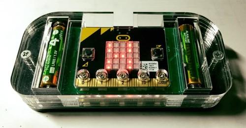 Micro-bitスイッチコントローラー用(アクリル遮光)ケース