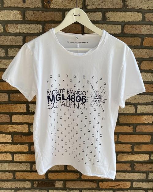MAGLIA(マリア) T-2404W Tシャツ ホワイト
