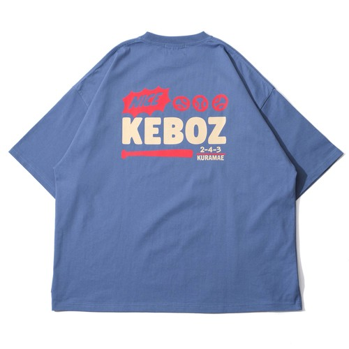 KRG S/S TEE 【SLATE BLUE】