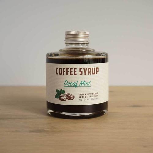 COFFEE SYRUP / Decaf mint