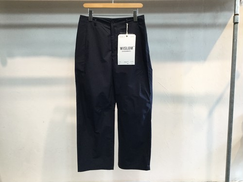 "WISLOM""WIDE TROUSERS LUCIE NAVY"""
