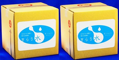 【きらり水 定期便⦅6ヶ月コース⦆】 きらり水(弱酸性次亜塩素酸水)濃縮タイプ10L 2箱セット(通常濃度80L分相当+専用コック1ケ付) 【持ち運びラクラク 10L入り2ケースセットでお届けします!】 送料無料(沖縄・離島除く)
