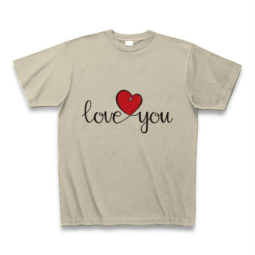 ILOVE YOUロゴTシャツ