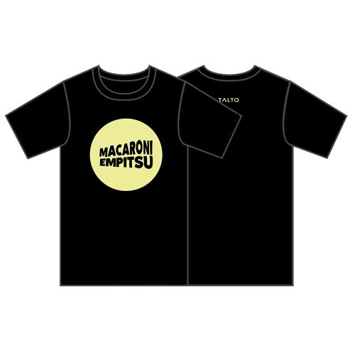 ウェーブロゴTシャツ(ブラック × イエロー)