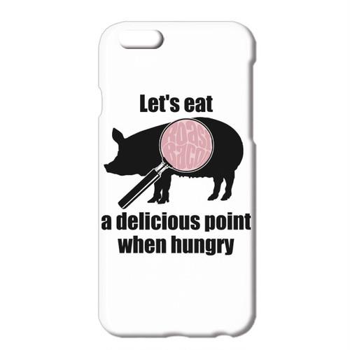 送料無料 [iPhoneケース] Delicious points / 豚