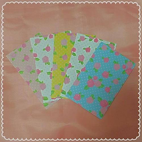 【カラー選択5枚セット】ドットローズ