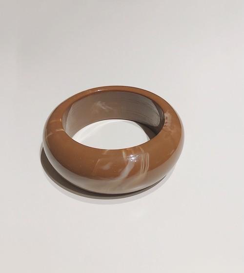 【brown】stoneバングル