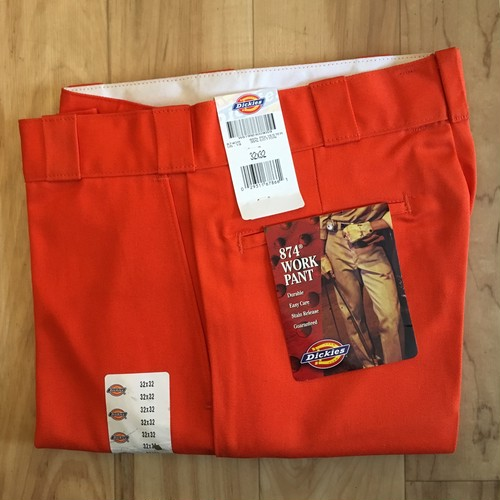 """""""NOS"""" Dickies 874-OR 32/32 inch <Made in USA>"""