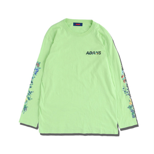 Fruits LS Tee -LIME-  / ADANS