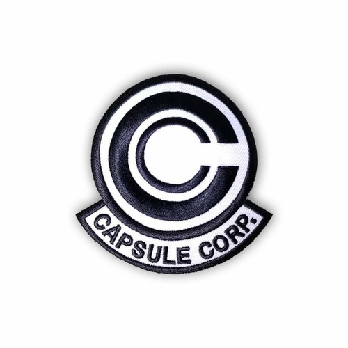 "OTHER WORLD""Capsule Corp (Black and White) patch"""