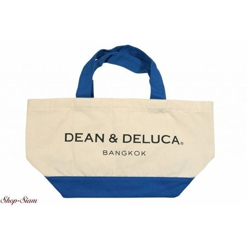 DEAN & DELUCA/ディーンアンドデルーカ  ハンドバッグ(BLUE&NATURAL) 【バンコク限定品】