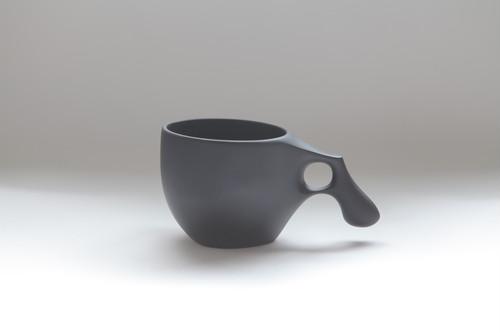 22 mogu cup M  BLACK(山桜材)