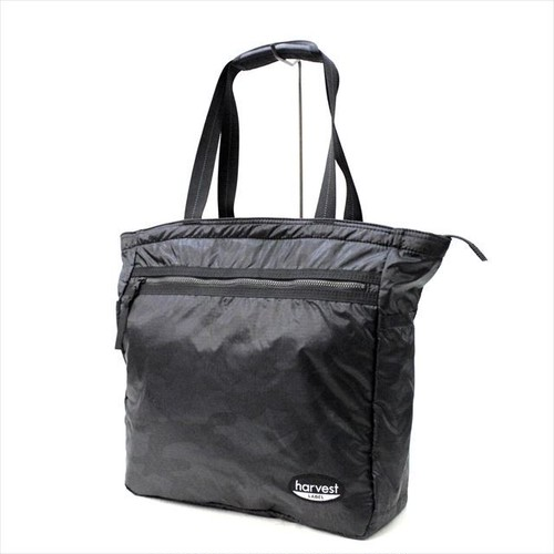 HARVEST LABEL 「NEO PARATROOPER」 PACKABLE TOTE <BLACK>