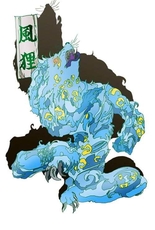妖怪31・風狸
