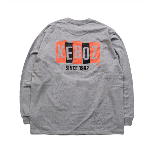 BS HEAVY WEIGHT L/S TEE【ASH】
