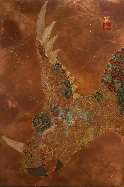「悠然」-スティラコサウルス-