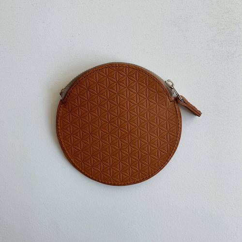 【COSMIC WONDER】Naturally tanned leather coin case/12CW83085-1