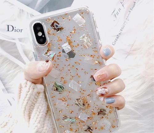キラキラ大理石風iphonecase