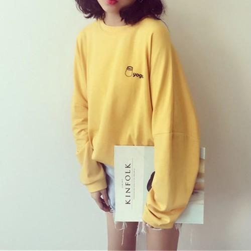 【お取り寄せ商品】ワンポイントロング長袖Tシャツ 9605