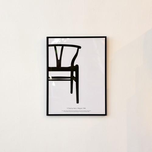 ポスター30cm×40cm /Y chair(フレーム付き)