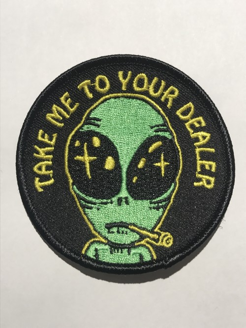 "GOBLINKO""TAKE ME TO YOUR DEALER PATCH"""