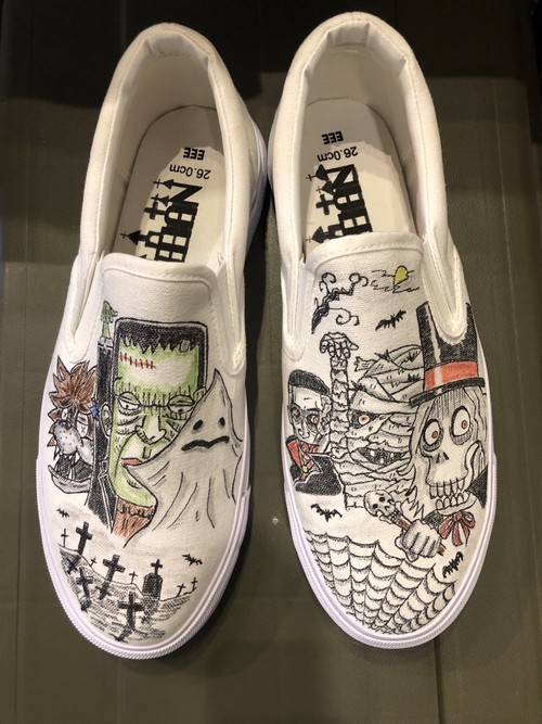 【JUNKBLUES × ACTGOOFY MONSTER SLIP-ON】