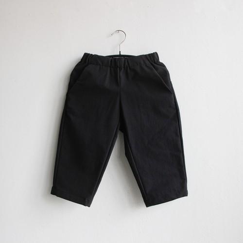 《MOUNTEN. 2021SS》double cloth stretch pants / black