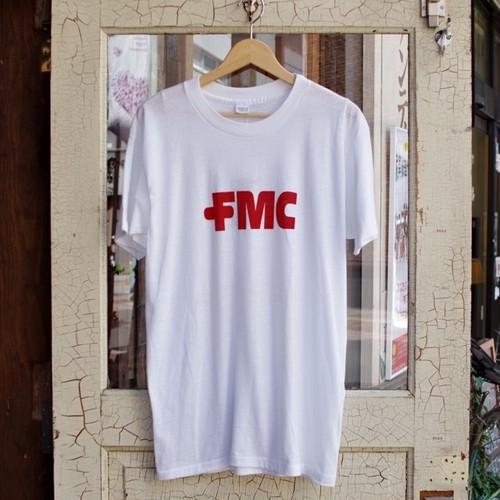 1970s Print T-Shirt / mayo SPRUCE 企業ロゴ 染み込み Tシャツ
